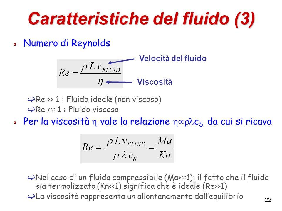 Caratteristiche del fluido (3)
