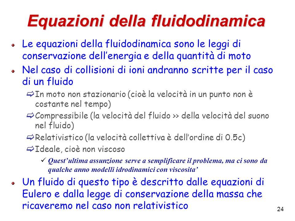 Equazioni della fluidodinamica