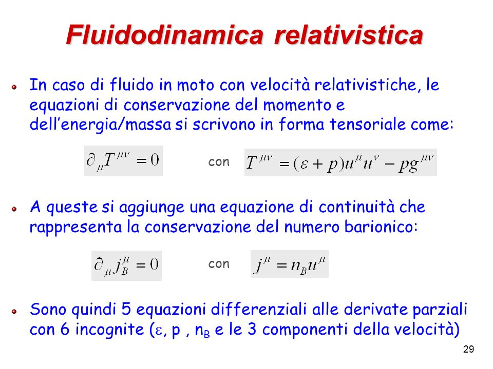 Fluidodinamica relativistica