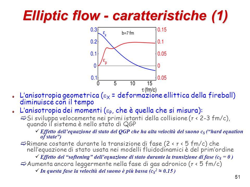 Elliptic flow - caratteristiche (1)
