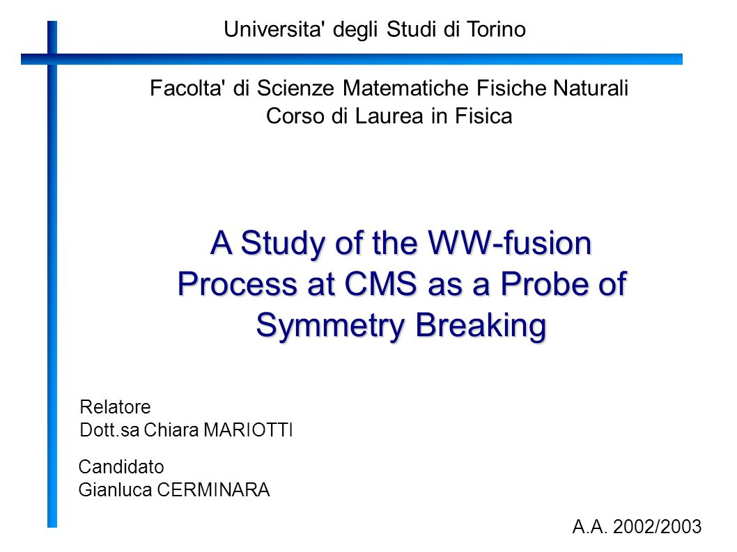 Universita degli Studi di Torino