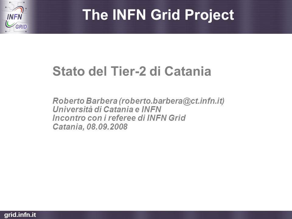 Stato del Tier-2 di Catania