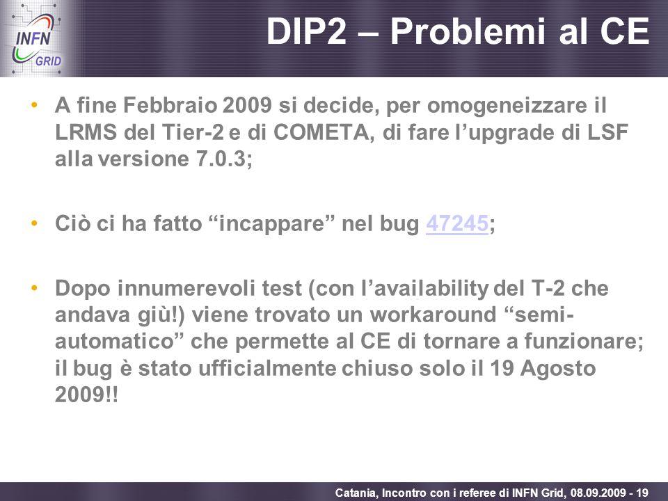 DIP2 – Problemi al CE