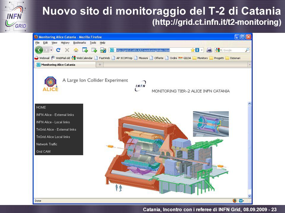 Nuovo sito di monitoraggio del T-2 di Catania (http://grid. ct. infn