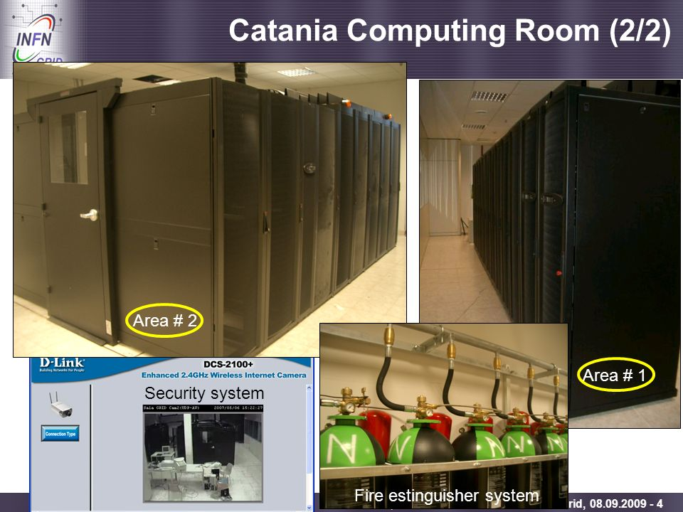 Catania Computing Room (2/2)