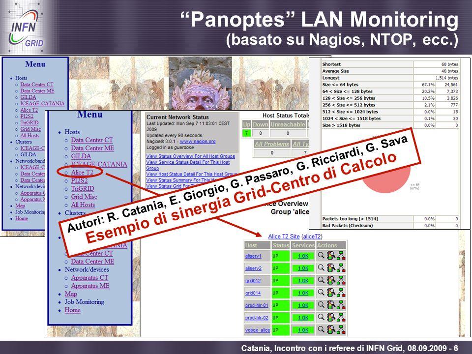 Panoptes LAN Monitoring (basato su Nagios, NTOP, ecc.)