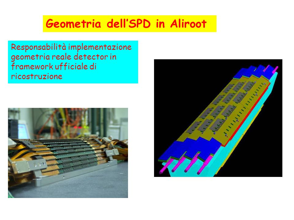 Geometria dell'SPD in Aliroot