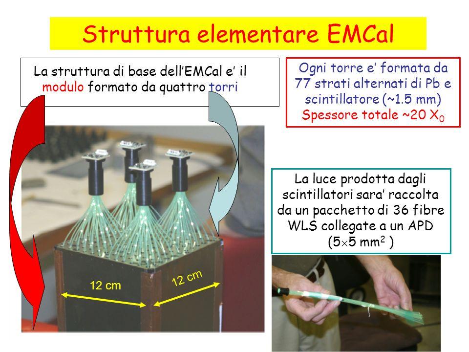 Struttura elementare EMCal
