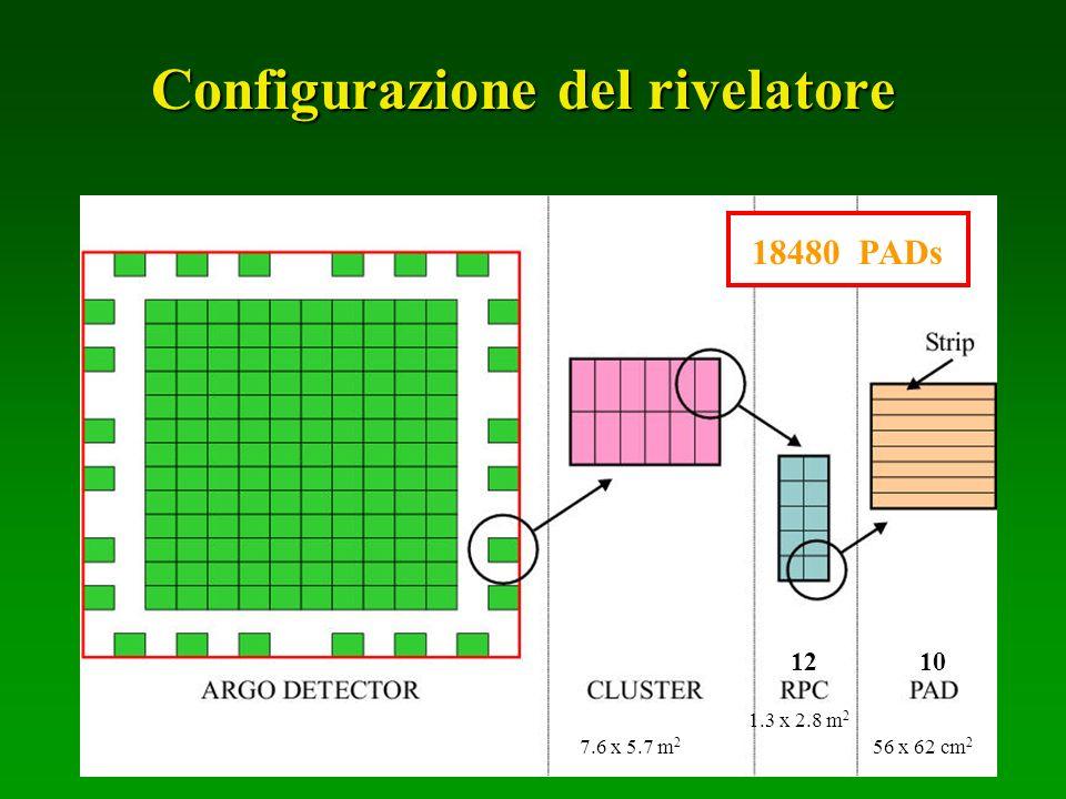 Configurazione del rivelatore