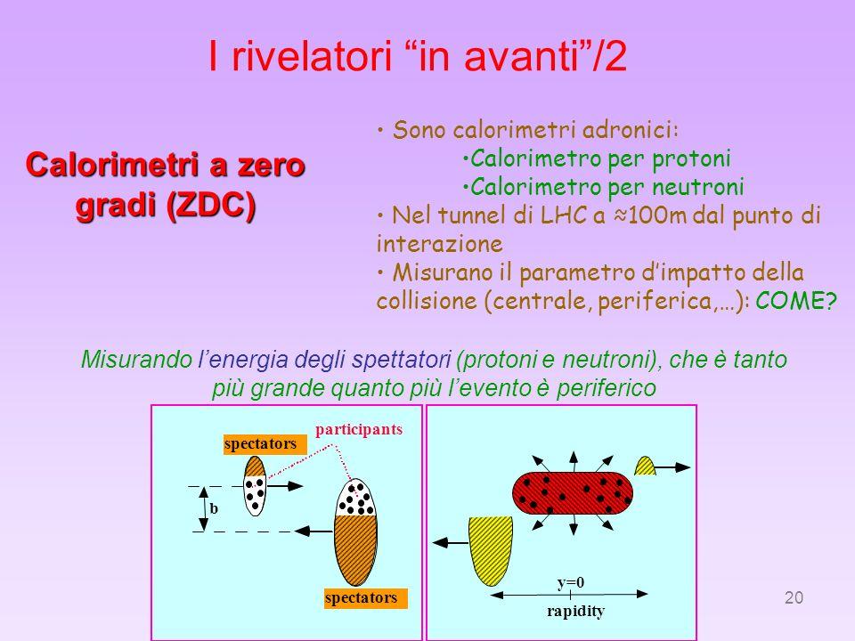 Calorimetri a zero gradi (ZDC)