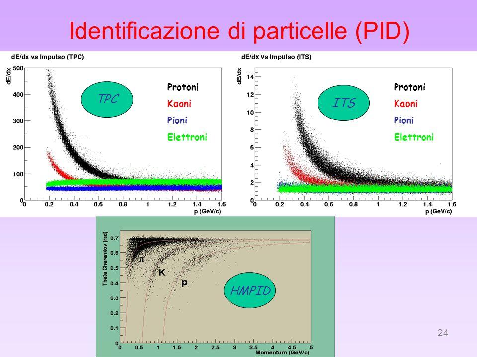 Identificazione di particelle (PID)