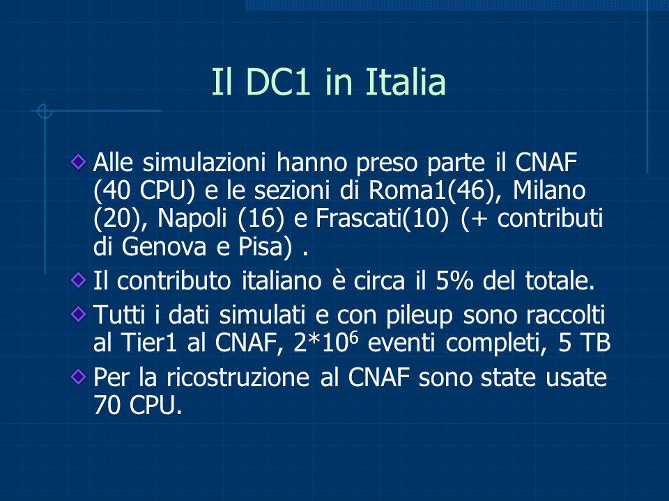 Il DC1 in Italia