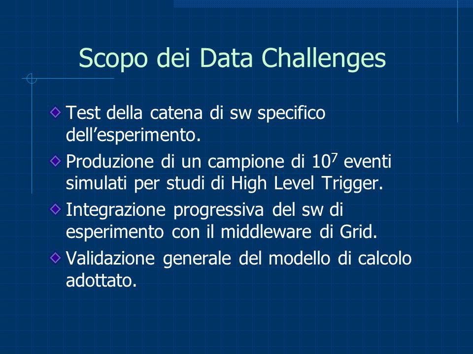 Scopo dei Data Challenges