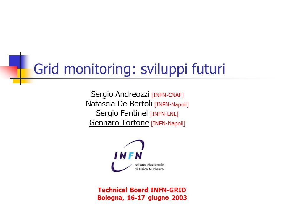 Grid monitoring: sviluppi futuri