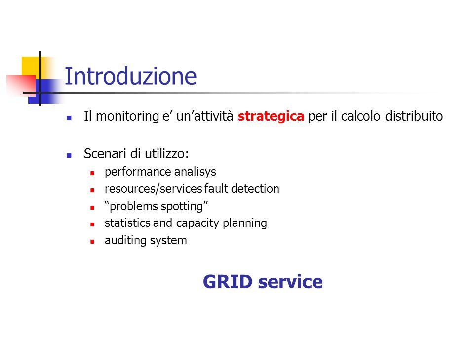 Introduzione GRID service