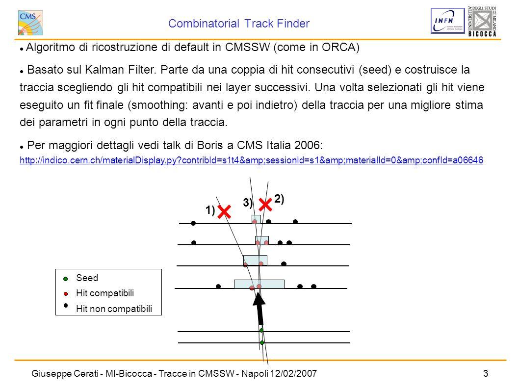 Combinatorial Track Finder