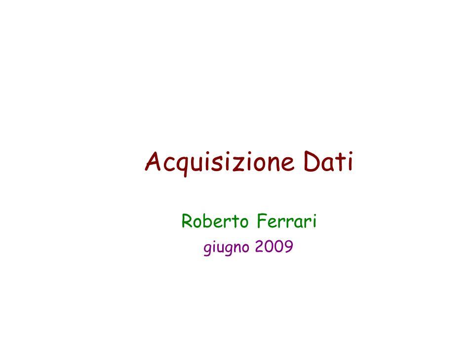 Acquisizione Dati Roberto Ferrari giugno 2009