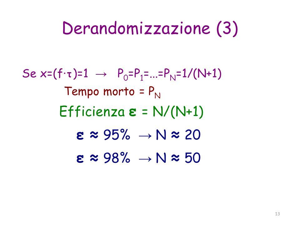 Derandomizzazione (3)