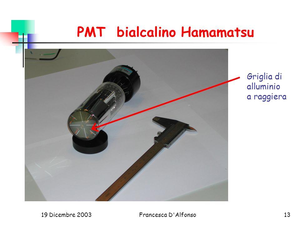PMT bialcalino Hamamatsu