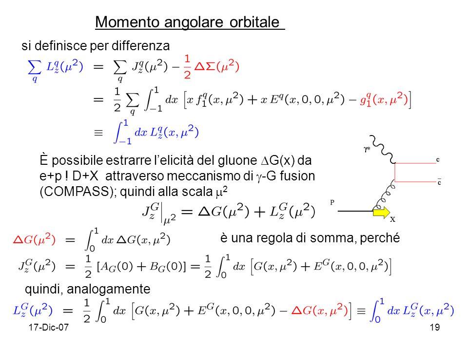 Momento angolare orbitale