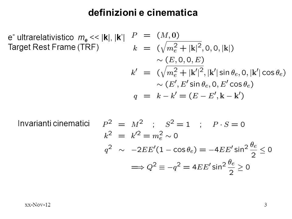 definizioni e cinematica