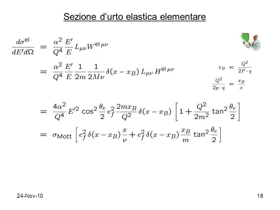 Sezione d'urto elastica elementare