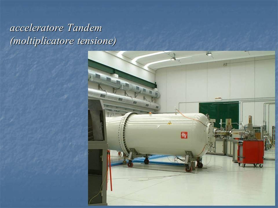 acceleratore Tandem (moltiplicatore tensione)