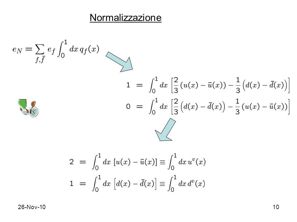 Normalizzazione 26-Nov-10