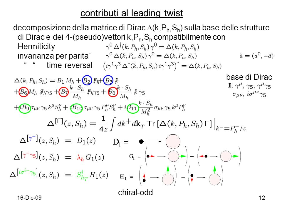 contributi al leading twist