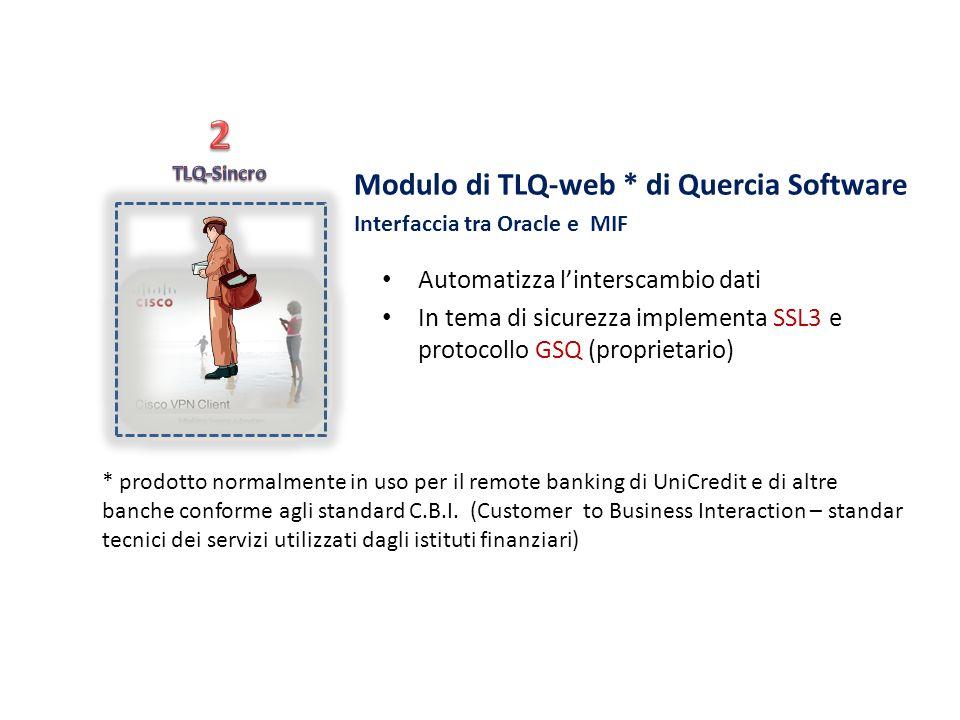 2 Modulo di TLQ-web * di Quercia Software