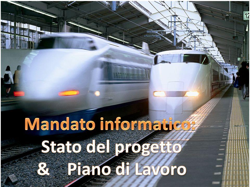 Mandato informatico: Stato del progetto & Piano di Lavoro