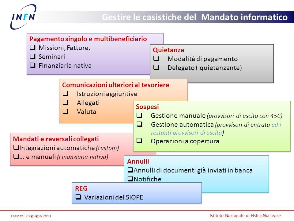 Gestire le casistiche del Mandato informatico