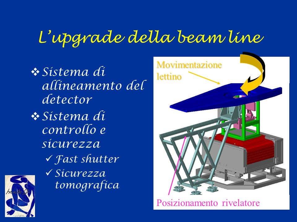 L'upgrade della beam line