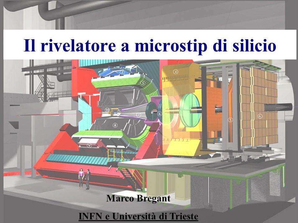 Il rivelatore a microstip di silicio
