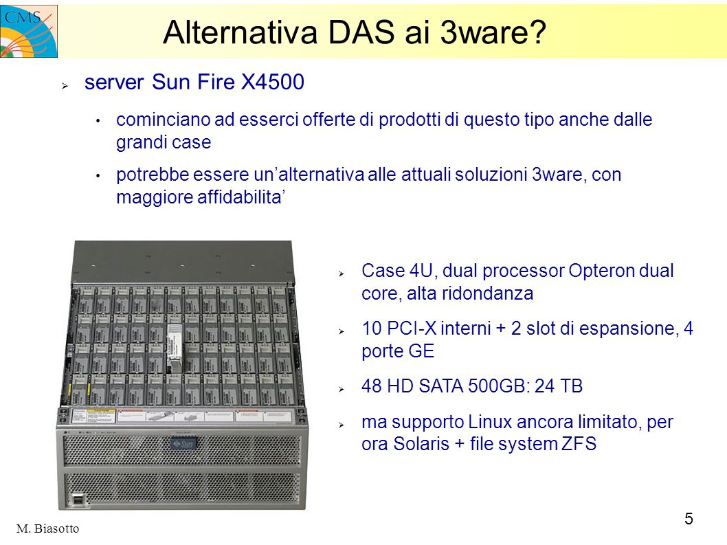 Alternativa DAS ai 3ware