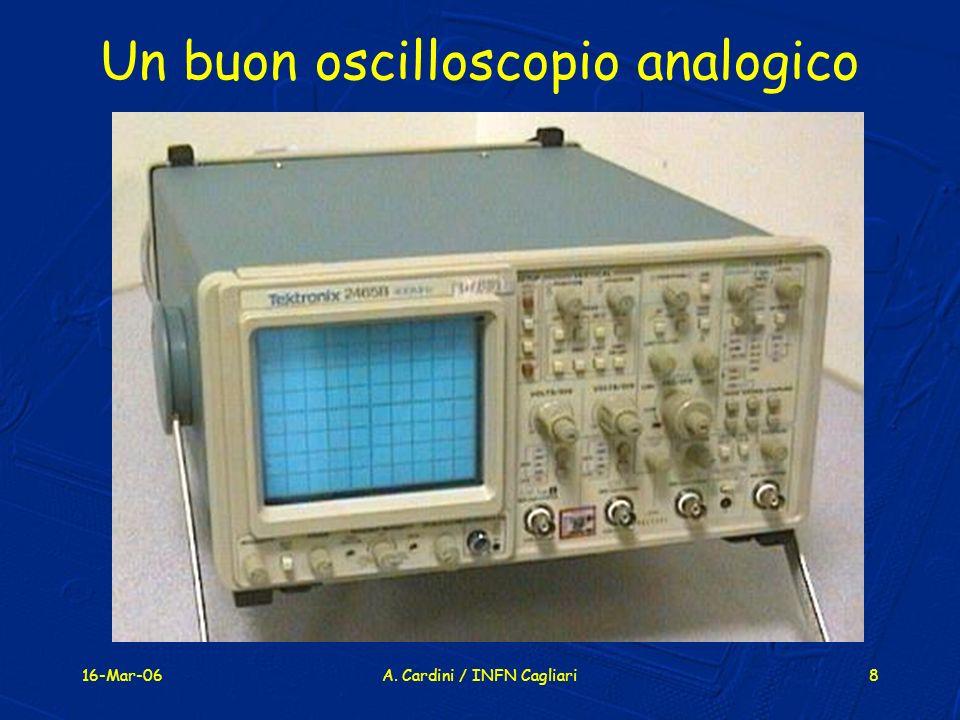 Un buon oscilloscopio analogico