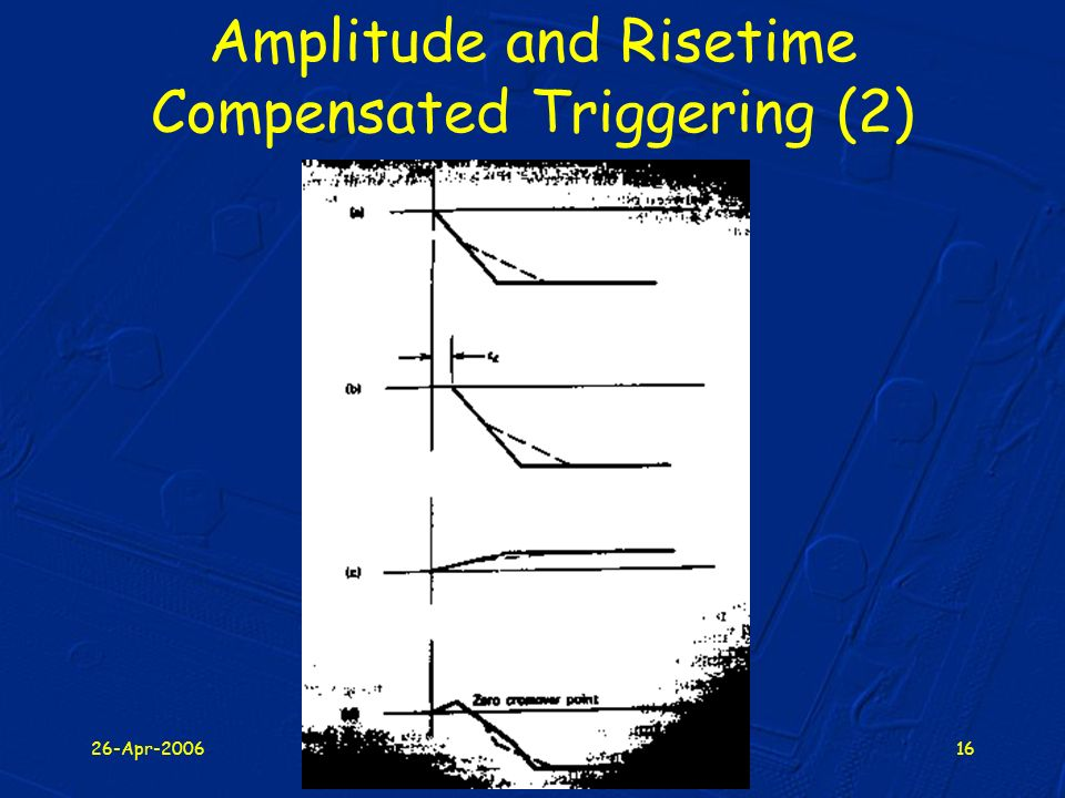 Amplitude and Risetime Compensated Triggering (2)