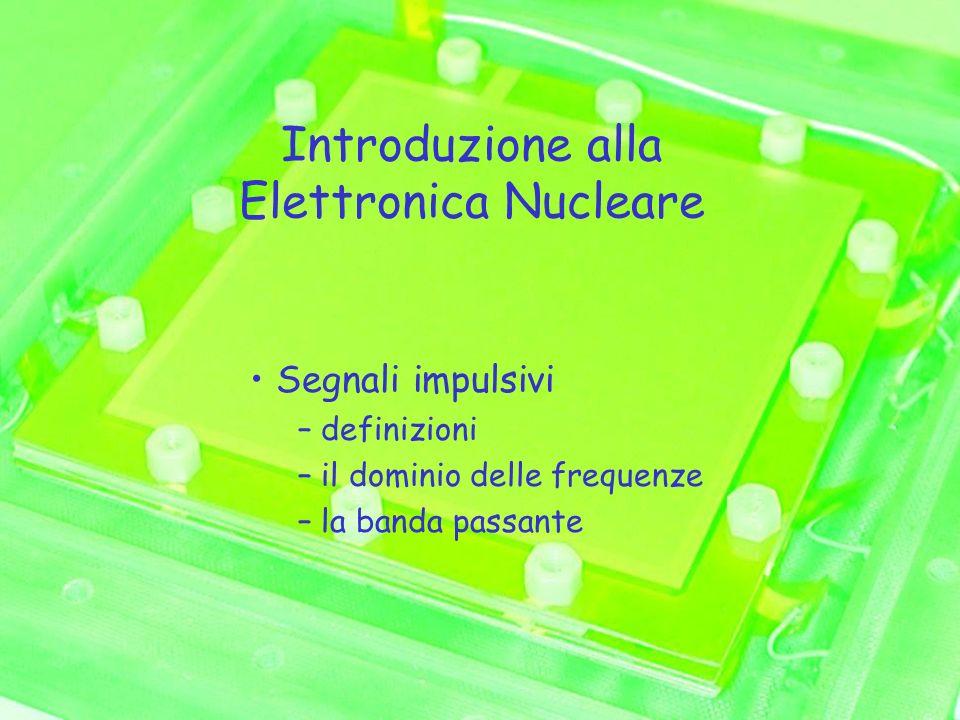 Introduzione alla Elettronica Nucleare