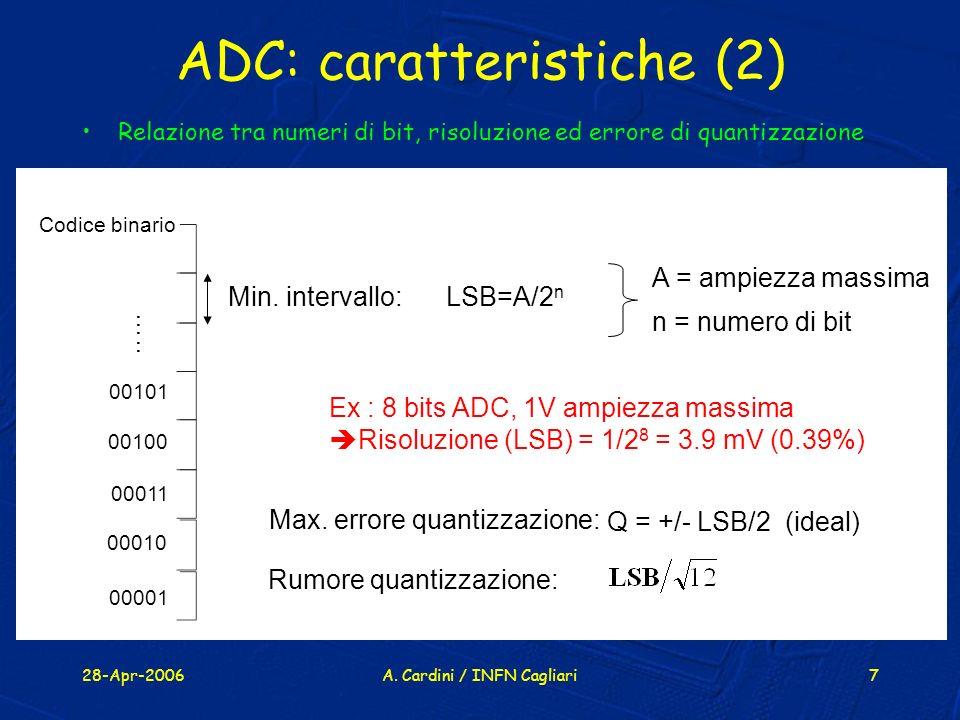 ADC: caratteristiche (2)