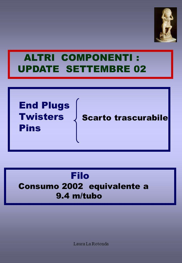ALTRI COMPONENTI : UPDATE SETTEMBRE 02 End Plugs Twisters Pins Filo