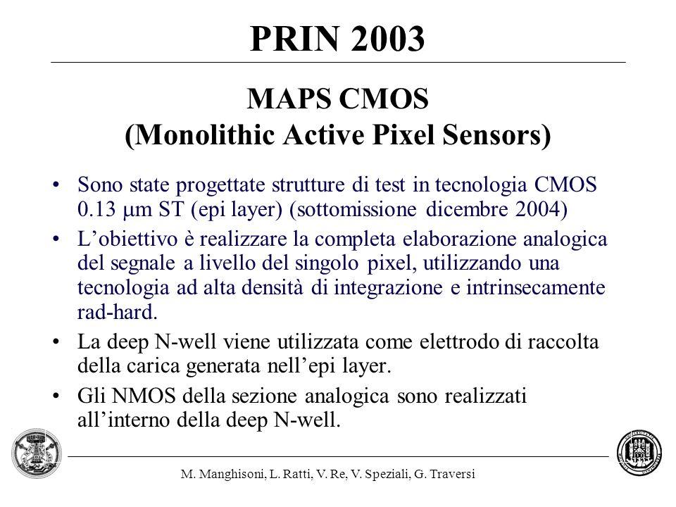 MAPS CMOS (Monolithic Active Pixel Sensors)