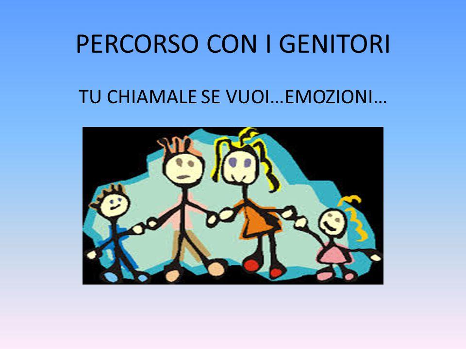 PERCORSO CON I GENITORI