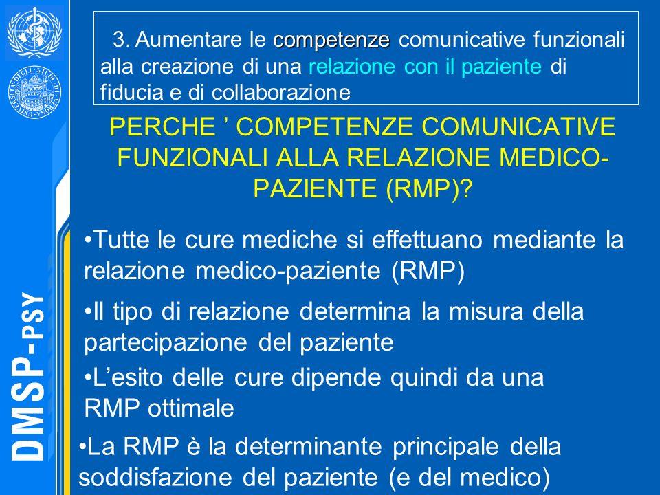 L'esito delle cure dipende quindi da una RMP ottimale