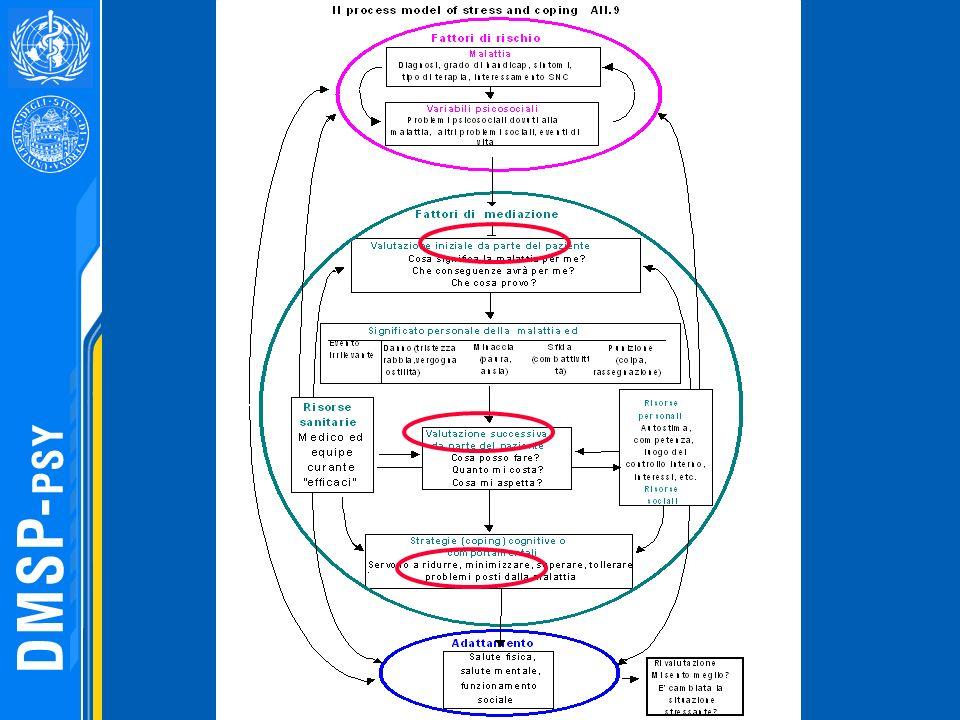 La direzione delle frecce nel grafico evidenziano come questi fattori di rischio e di mediazione interagiscono nel determinare l adattamento finale. Questi fattori hanno allo stesso tempo un influenza indipendente e diretta.
