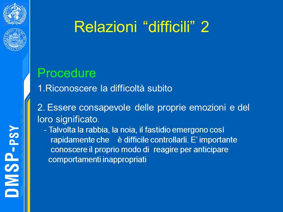 Relazioni difficili 2