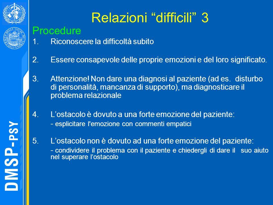 Relazioni difficili 3