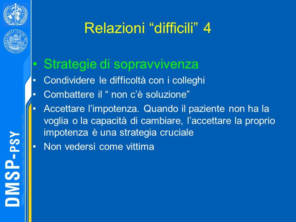 Relazioni difficili 4