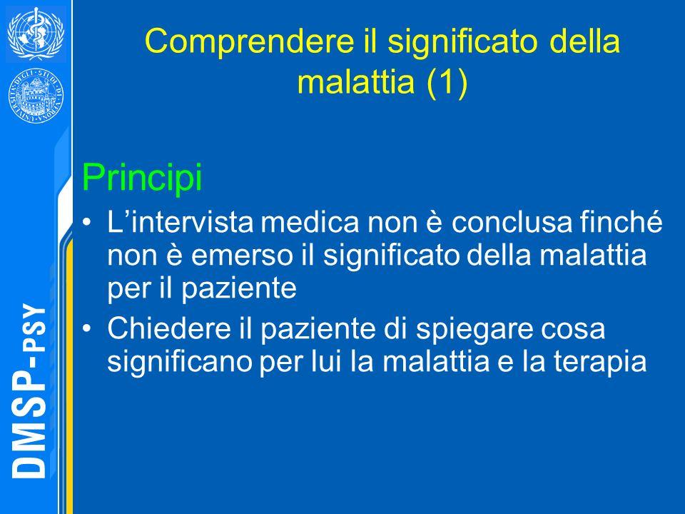 Comprendere il significato della malattia (1)