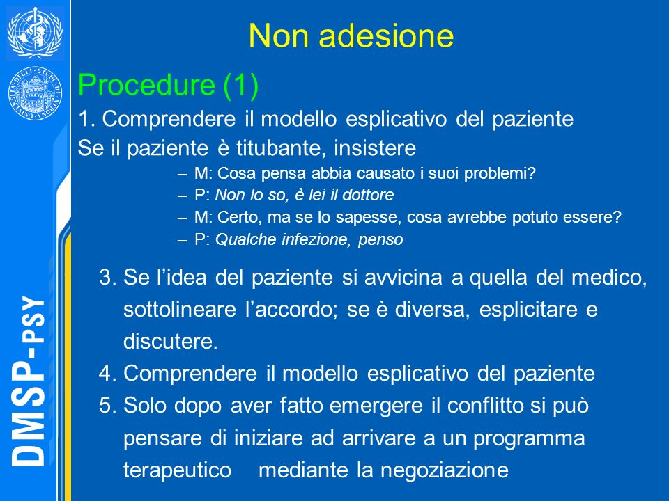 Non adesione Procedure (1)
