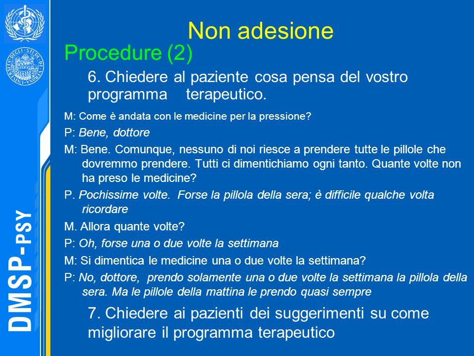 Non adesione Procedure (2)